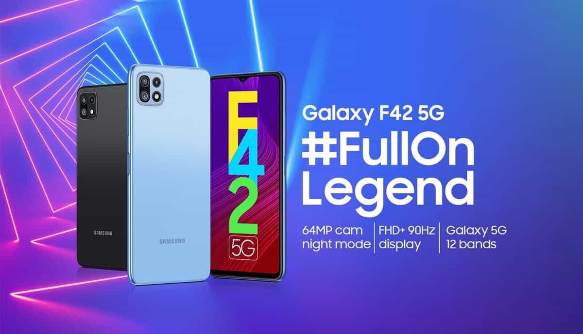 Samsung Galaxy F42 5G Price in India