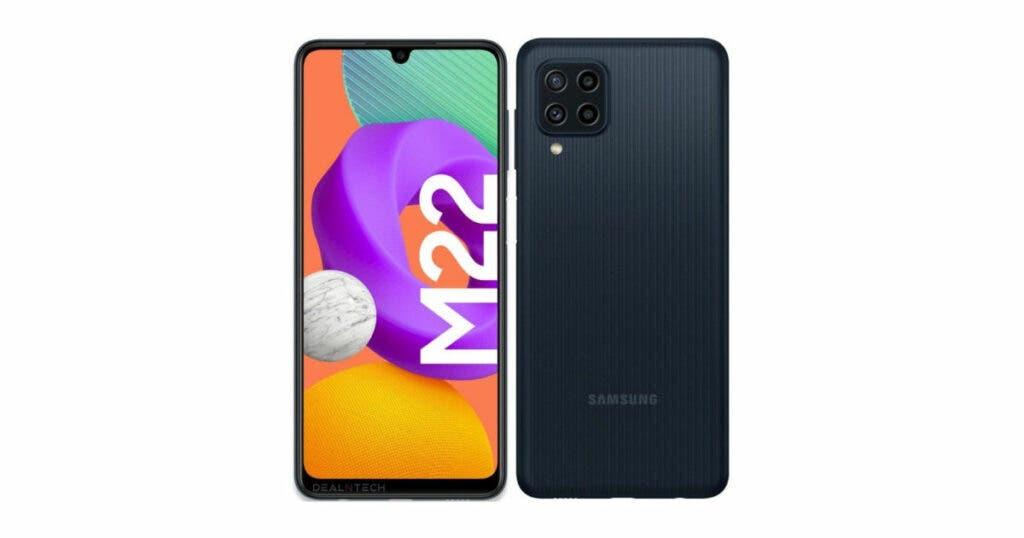Samsung Galaxy M22 Samsung Russia Launch