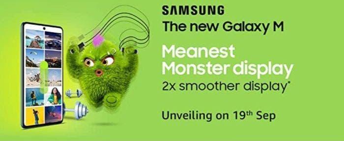 Samsung Galaxy M52 5G Amazon Listing