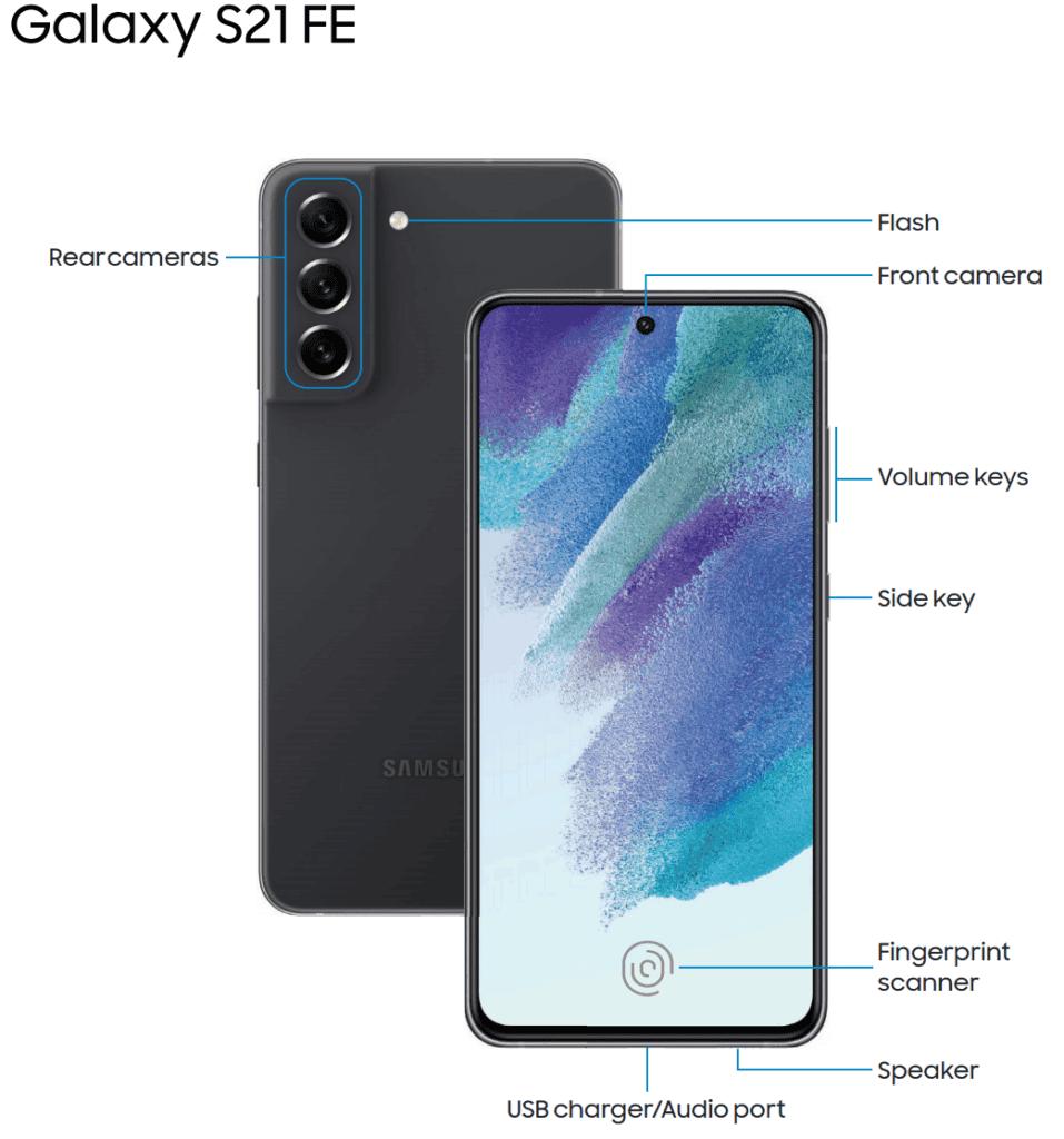 Samsung Galaxy S21 FE 5G Render