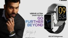 TAGG Verve Ultra Smartwatch launch in India