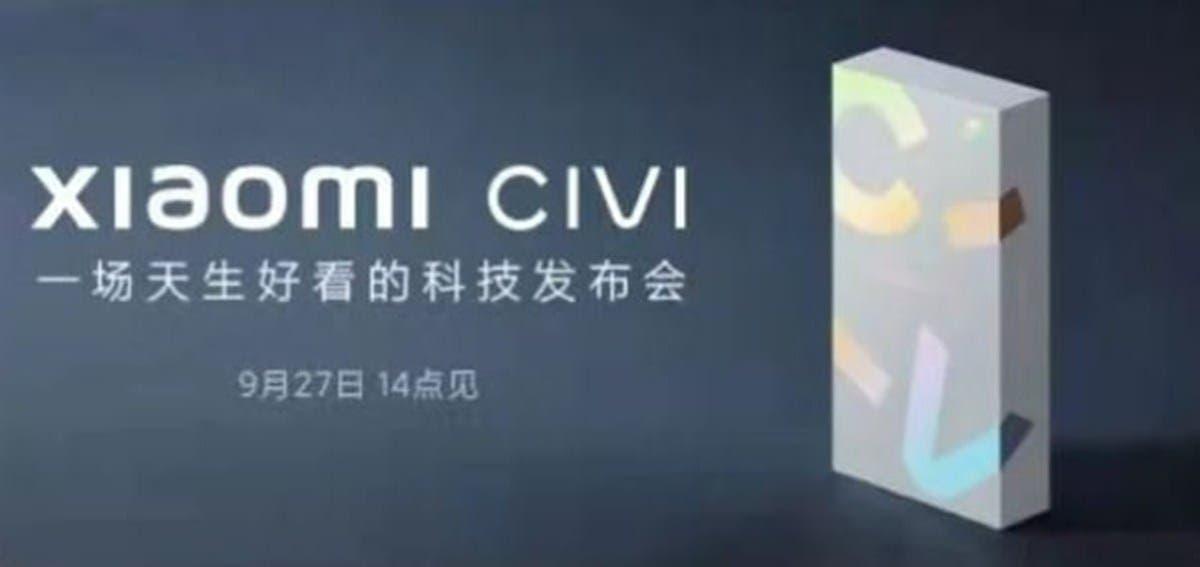 Xiaomi Civi Launch