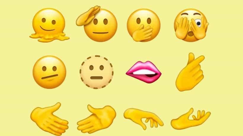 Apple iOS 15 emojis