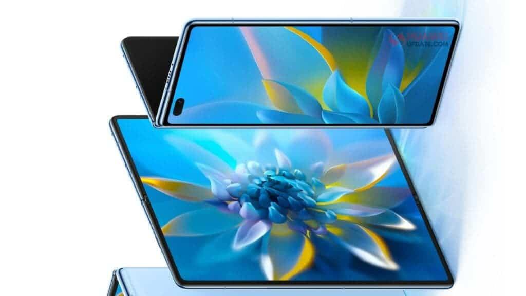Honor Magic X foldable phone design