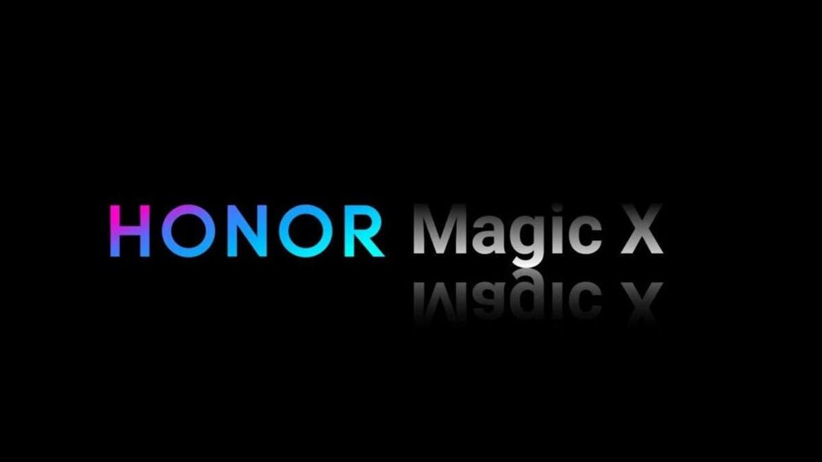 Honor Magic X foldable phone launch