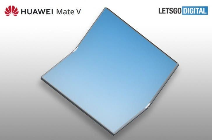Huawei Mate V clamshell phone