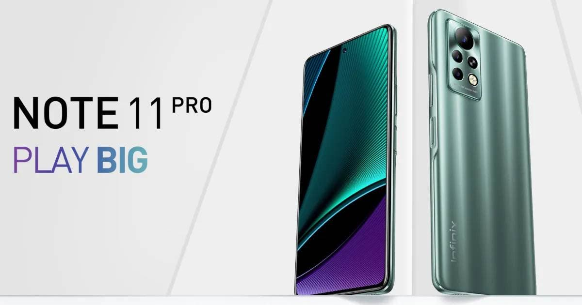 Infinix NOTE 11 Pro Launched