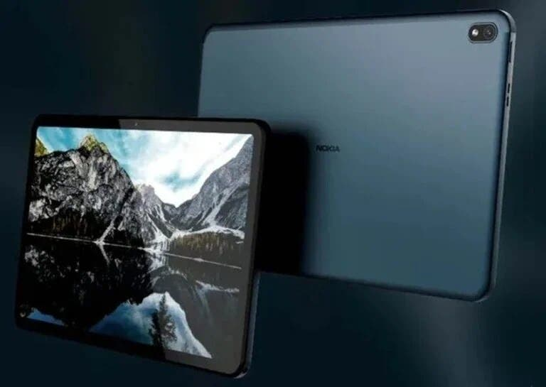 Nokia T20 leaked image