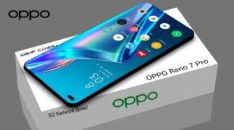 Oppo Reno 7 Pro retail box and phone