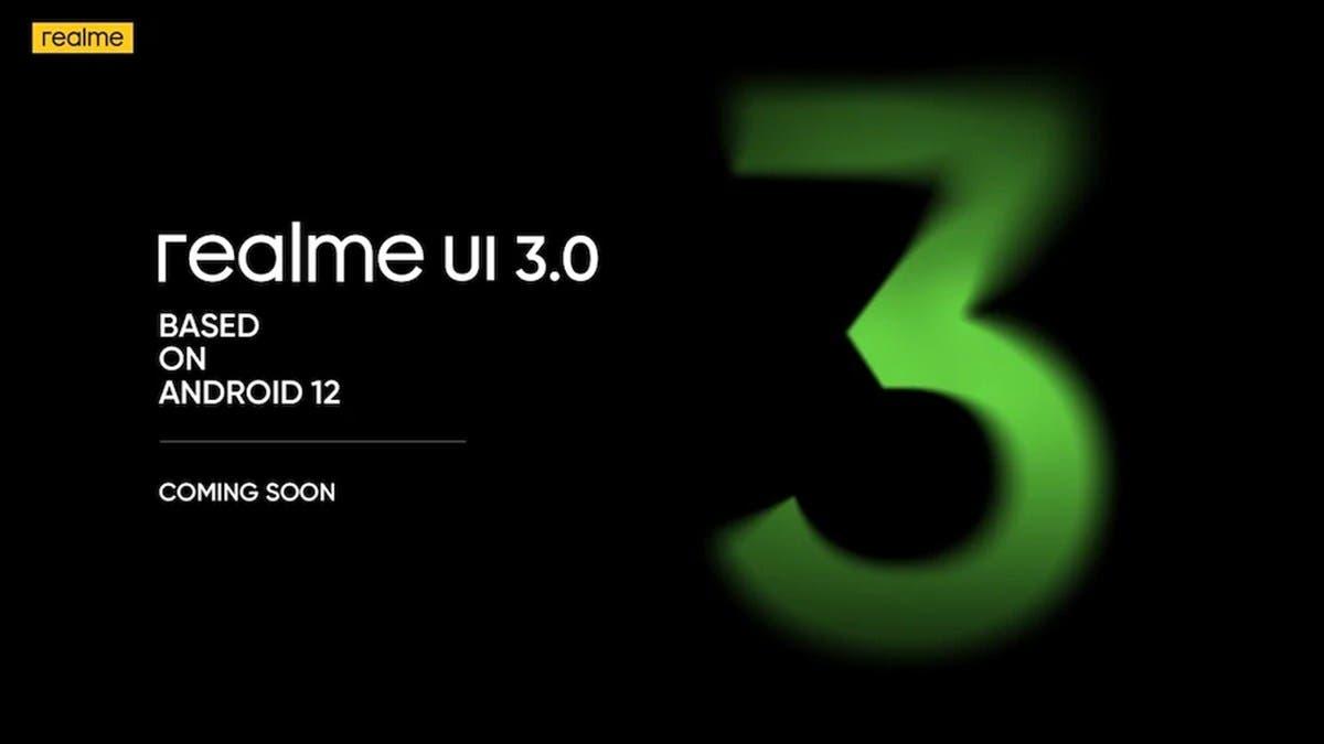 Realme GT Series Android 12 Realme UI 3.0