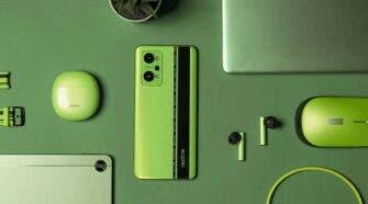 Realme Pad, Realme Book green color option