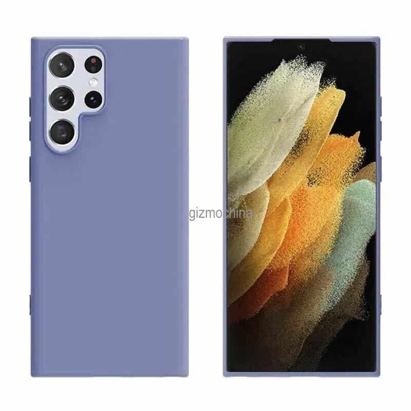 Samsung Galaxy S22 Ultra case renders_2
