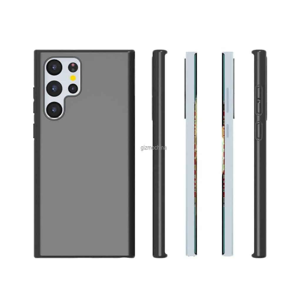 Samsung Galaxy S22 Ultra case renders_4