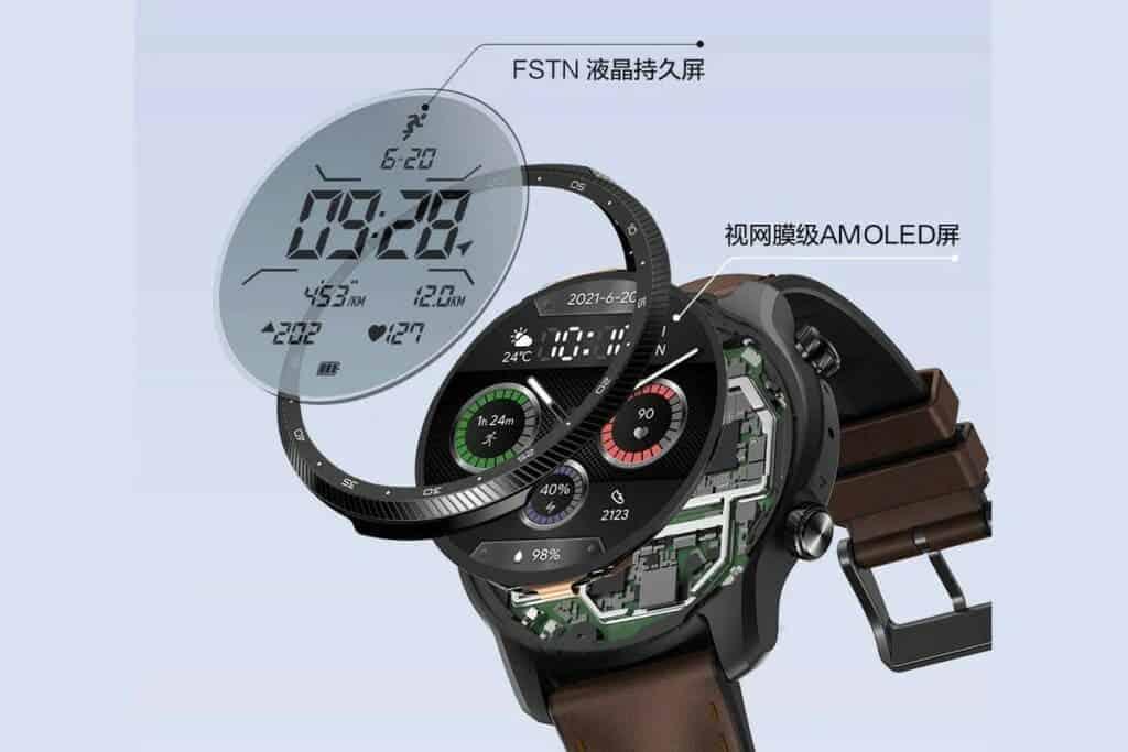 TicWatch Pro X Display