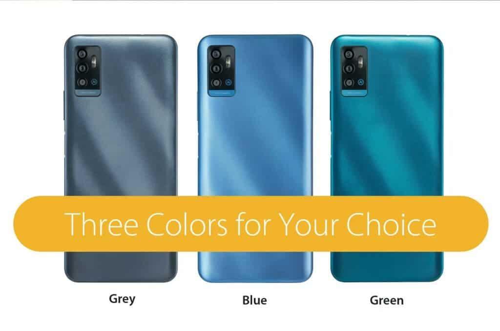 ZTE A71 color options