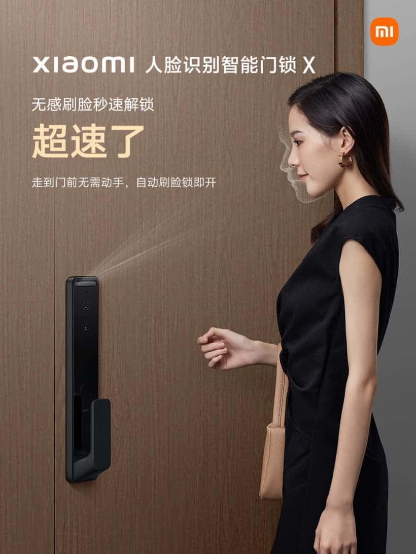 Xiaomi Face Recognition Smart Door Lock X