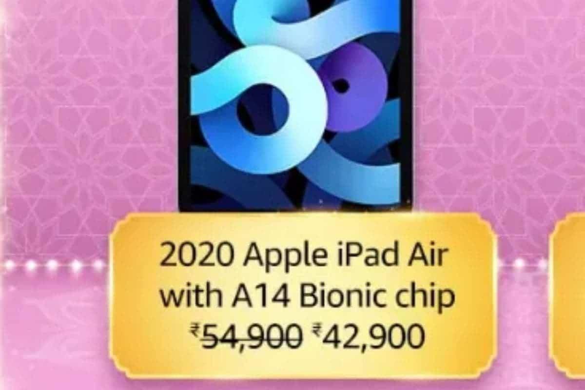 iPad Air 2020 Offer