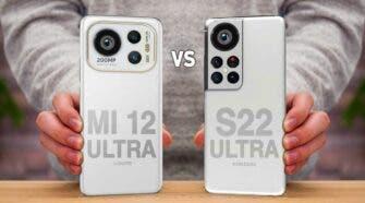 Xiaomi 12 Galaxy S22