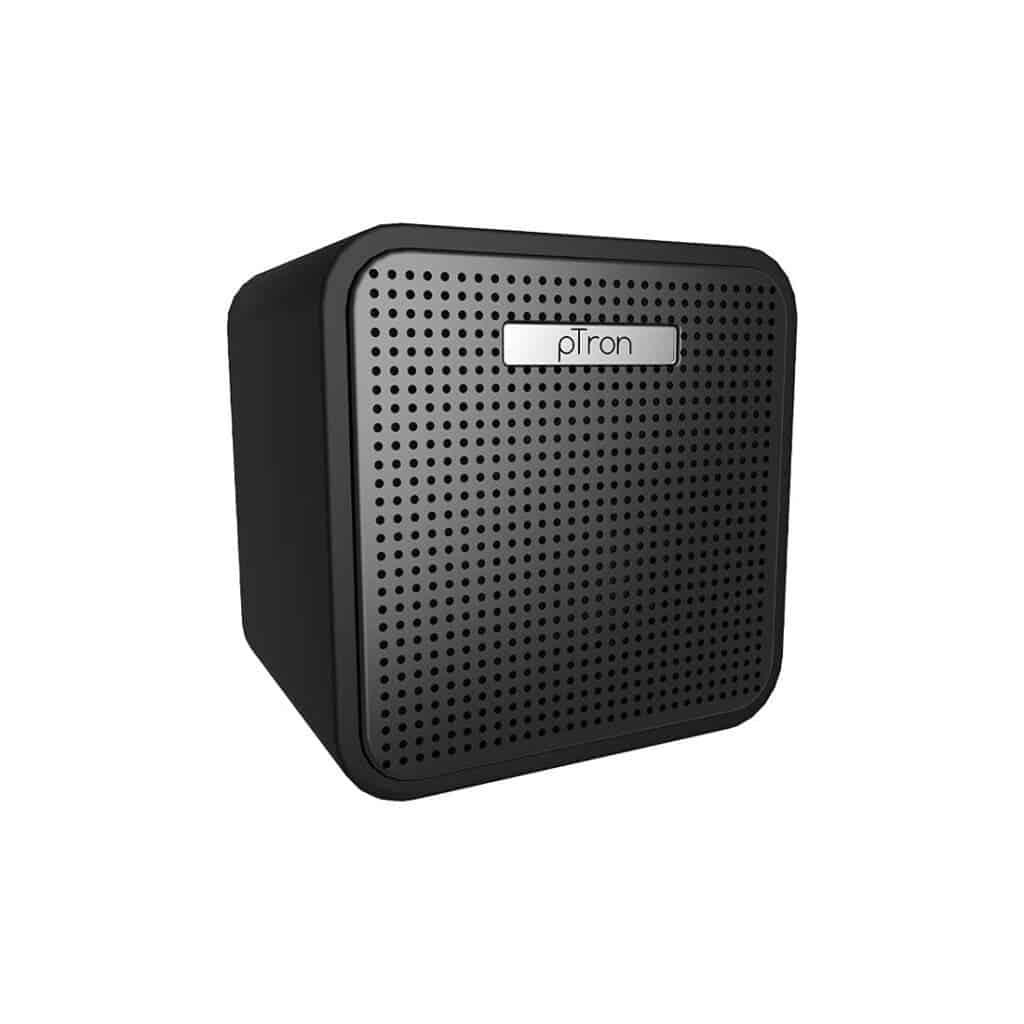 pTron Musicbot Cube smart speaker design