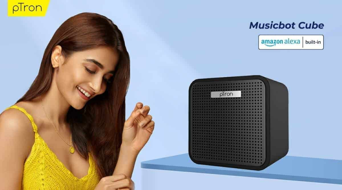 pTron Musicbot Cube smart speaker launch in India