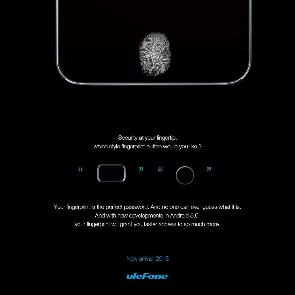 ulefone finger print scanner
