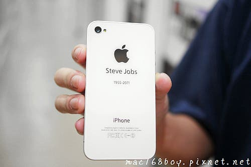 apple,iphone 4 steve,iphone 4 tribute,chinese artist iphone 4,apple steve jobs cover