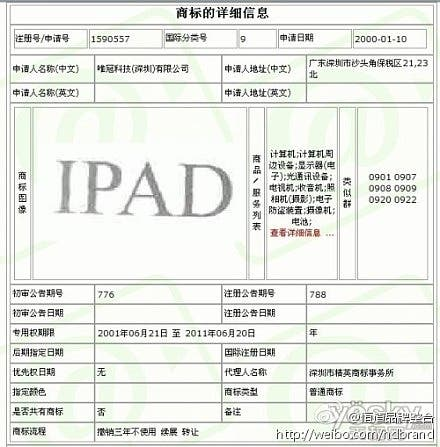 ipad trademark china.china proview ipad,proview vs apple,ipad banned china