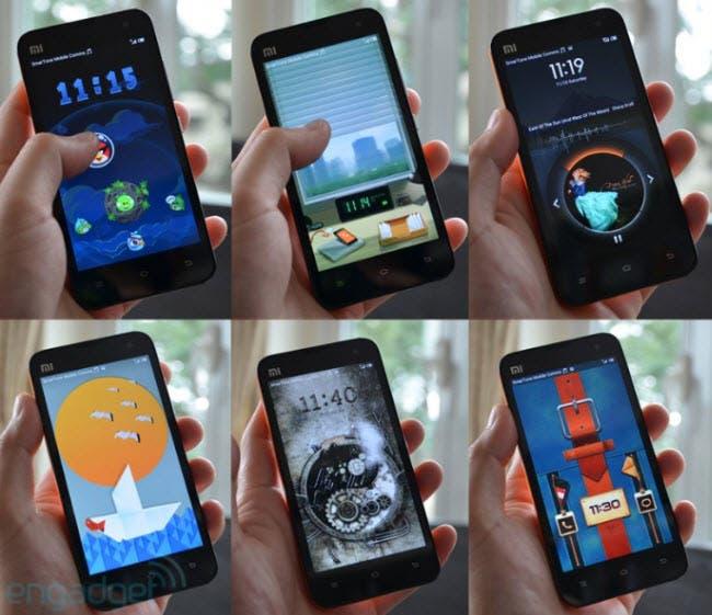 Xiaomi m2 themes