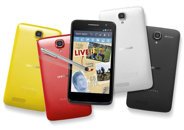 Alcatel One Touch Scribe HD Colors3 UPDATE! Top 15 1080HD Android phones from China!