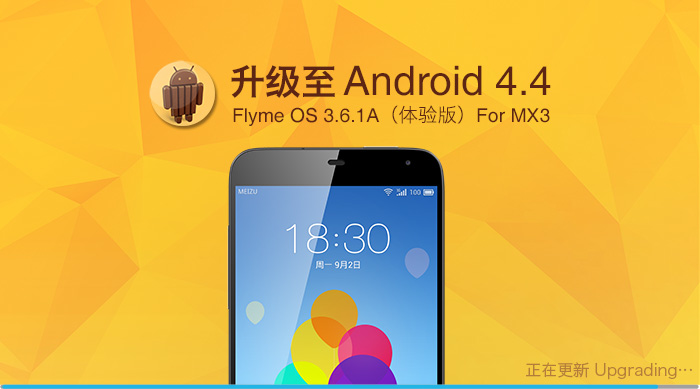 Android 4.4 meizu MX3