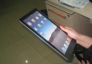 Arm powered ipad clone side