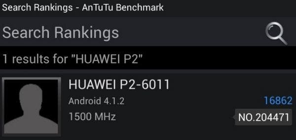 Huawei Ascend P2 Benchmarks crush our 8 core hopes!