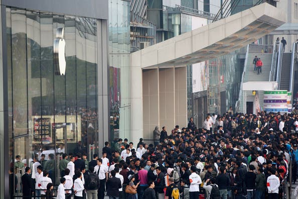 iphone 4s sold out hong kong