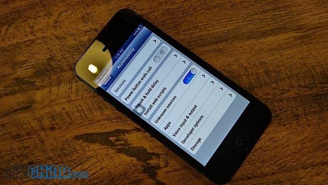 GooPhone i5 ios6 skin