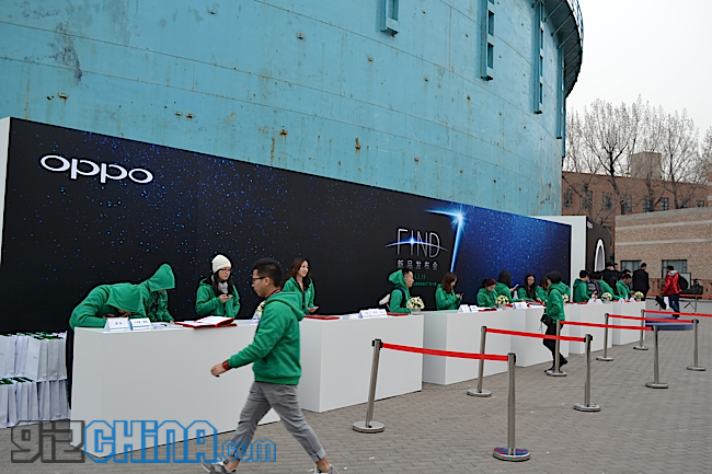 oppo find 7 launch
