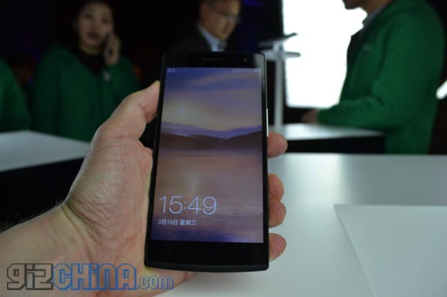 oppo find 7 hands on