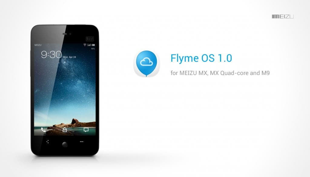 Flyme OS android 4.0 ics for meizu mx and m9 android phones