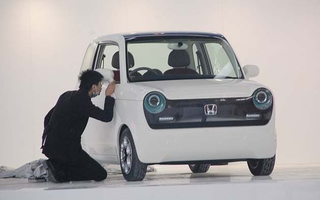Honda's Cute 'N' inspired EV at Beijing Auto Show