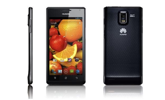huawei ascend p1 goes on sale in the US