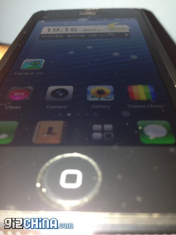 Lewa rom running on Goophone i5