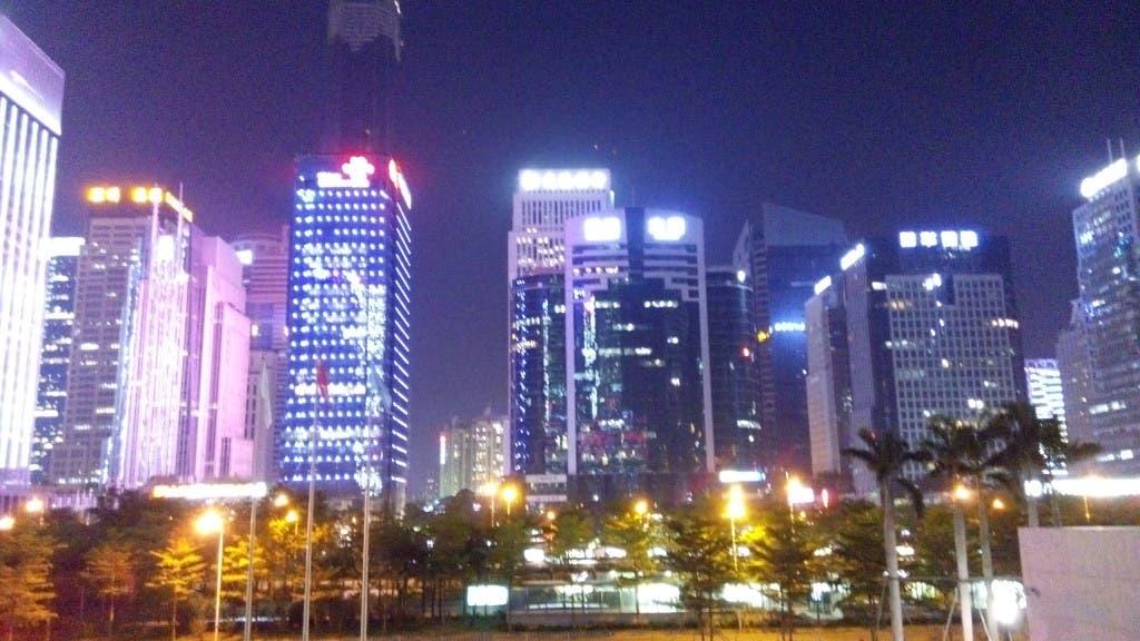 JiaYu F2 Night Photo