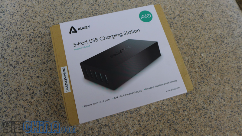aukey 5 usb charging station review