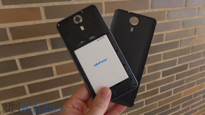 ulefone be touch hands on