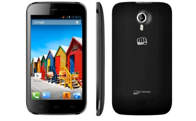 Micromax A115 Canvas 3D launched india