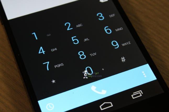Nexus 5 Dialer