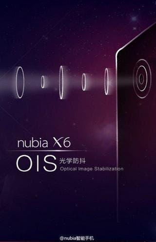 Nubia-X6-OIS-camera