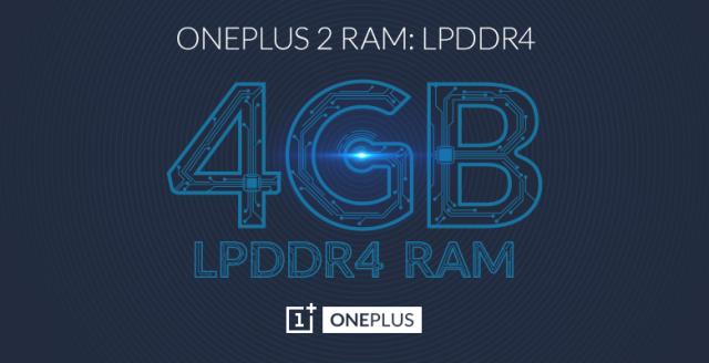 oneplus 2 4gb ram
