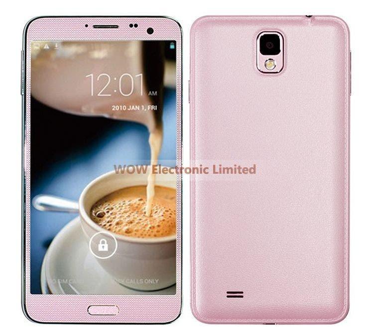 elephone p8 pink
