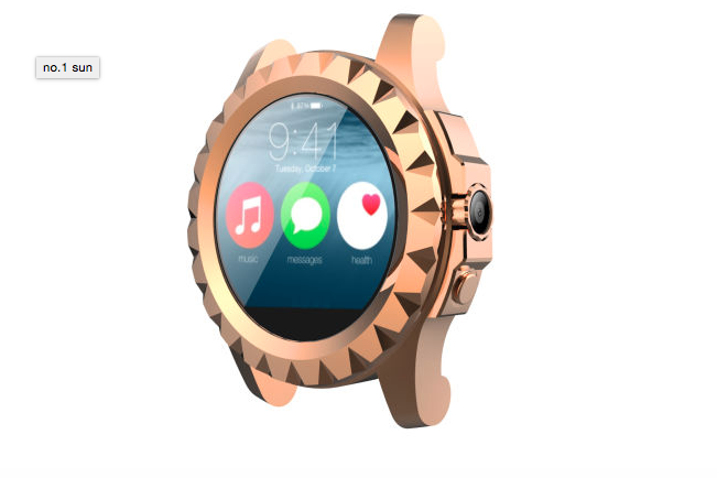 no1 sun smartwatch