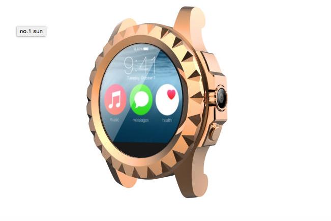 no1 sun smartwatch